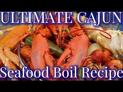 King Crab, Snow Crab, Lobster, & Crawfish Boil Recipe 🔥🔥🔥 (2019)