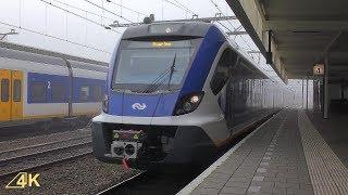 Aankomst SNG 2711 en 2315 in Station Leiden Centraal | Ultra HD (4K)