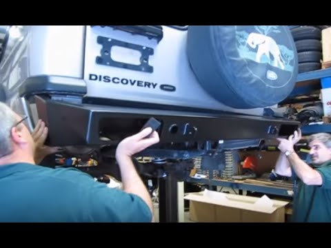 Installing Steel Bumpers And Winch On Discovery Series II