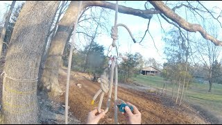 Super System - Lowerable 3-1 Tree Climbing System