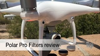 Best possible DJI Phantom 4 footage with Polar Pro filters