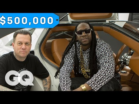 2 Chainz Geeks Out Over a $500K DeLorean by West Coast Customs | Most Expensivest Sh*t