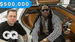 2 Chainz Geeks Out Over a $500K DeLorean by West Coast Customs   Most Expensivest Sh*t