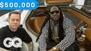 Download 2 Chainz Geeks Out Over a $500K DeLorean by West Coast Customs   Most Expensivest Sh*t Mp3 and Videos