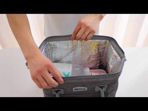 CPMAX 大容量保冷保鮮野餐包 野餐袋 大號冰包 加厚加大野餐包 便當袋 保鮮袋 保鮮盒 保冷袋  大容量【H262】
