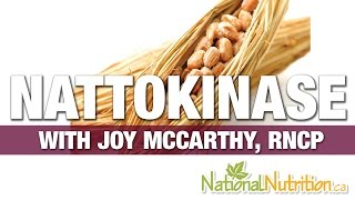 Professional Supplement Review - Nattokinase with Joy McCarthy