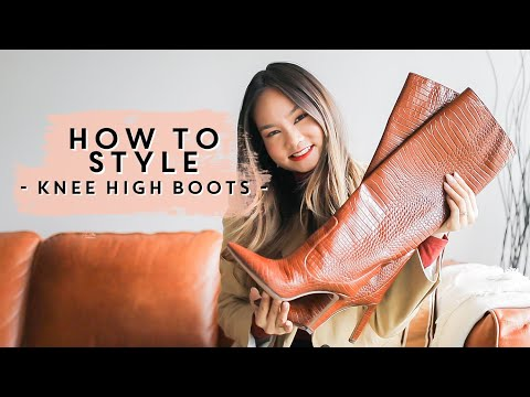 HOW TO WEAR & STYLE - Knee High Boots   Victoria Hui