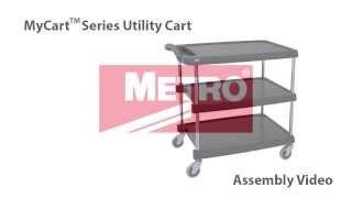 Mycart™ Series Utility Cart Assembly