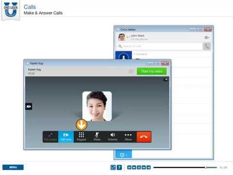CISCO Jabber 10 for Windows - Make And Answer Calls