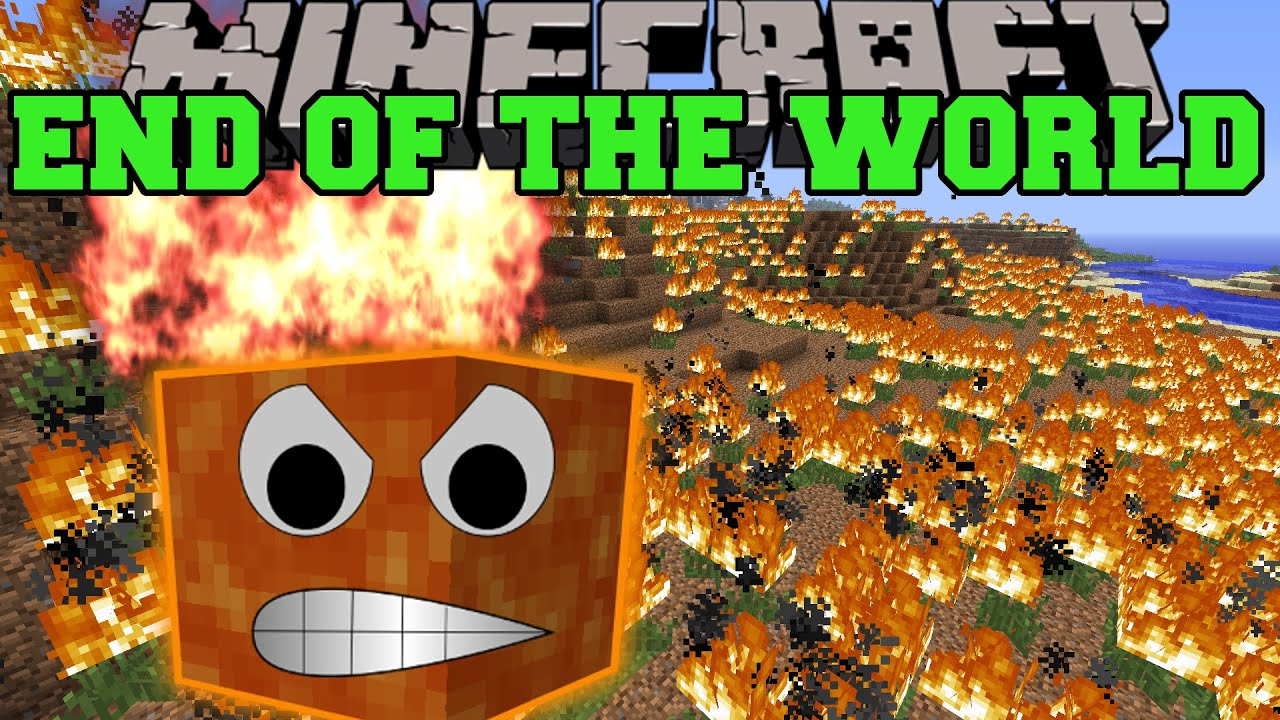 Minecraft THE END OF THE WORLD MOD SURVIVE THE SOLAR APOCALYPSE