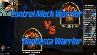 Oondasta Warrior vs Control Mech Warrior - Hearthstone
