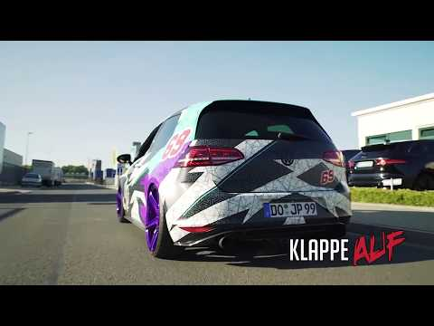 Volkswagen Golf MK7 Gti   Armytrix Valvetronic Exhaust by JP Performance Germany