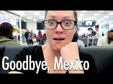 Leaving Mexico! Travel Day from Mexico City to San Jose, Costa Rica