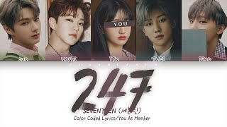 SEVENTEEN (세븐틴) — '247' (5 Members ver.) (Color Coded Lyrics…