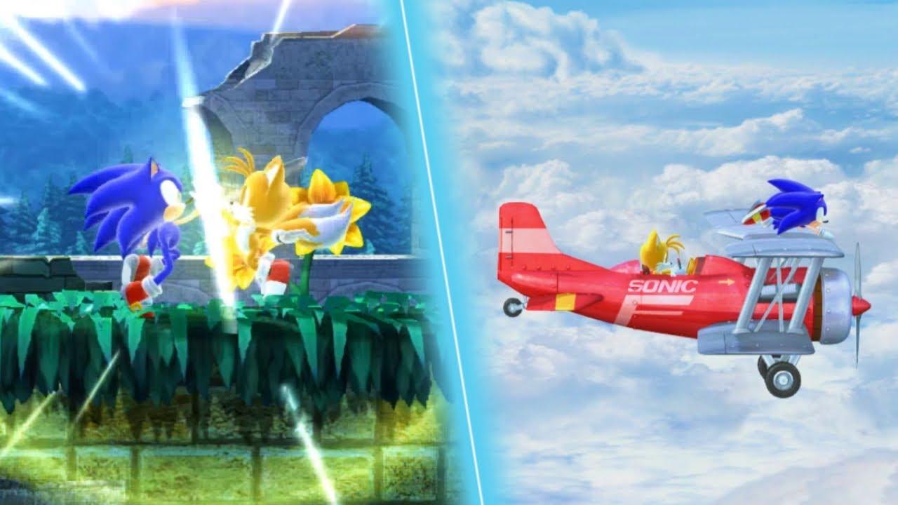 Sonic 4 Episode 2: Co-op Mode Playthrough (Ft. Sonic Improviser)