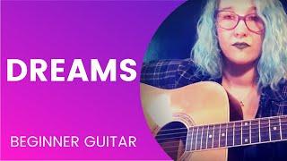 Dreams Fleetwood Mac Guitar Super Easy Beginner