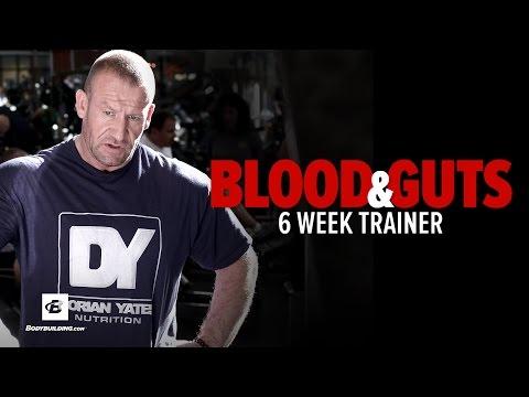 Dorian Yates' Blood & Guts Training Program