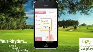 Golf Rhythm Trainer - Swing optimizing - english