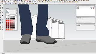SketchUp строим кухню с нуля 001