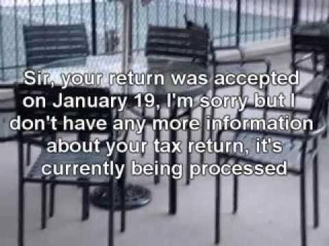 WHERE'S MY REFUND - IRS Code 1102