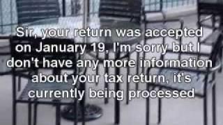 WHERE S MY REFUND - IRS Code 1102