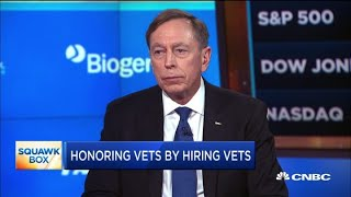 Watch CNBC's full interview with Gen. David Petraeus