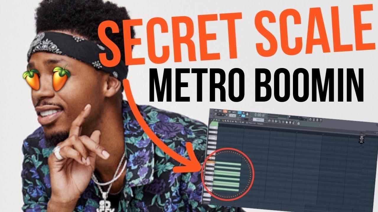 METRO BOOMIN USES THIS SECRET SCALE | IN UNDER 3 MINS | FL Studio 12  Tutorial