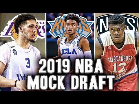 The Way Way Too Early 2019 NBA Mock Draft Predictions