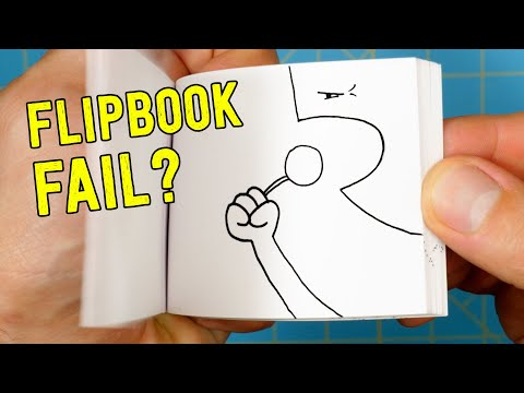 5 Minute FLIPBOOK Challenge - What Was I Thinking??