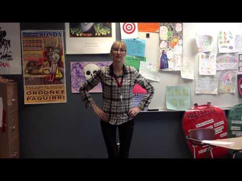 Descubre II Leccion 1 Pruebita del cuerpo y los verbos Profesora Ruddock Cheney High School