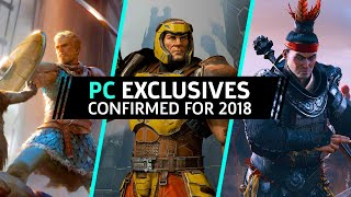 14 Most Anticipated PC Exclusives Coming in 2018