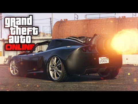 JET ENGINE POWERED CAR?! | ROCKET VOLTIC | GTA 5 (Online) w/ The Nobeds