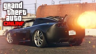 JET ENGINE POWERED CAR?! | ROCKET VOLTIC | GTA 5 (Online) w/ The Nobeds