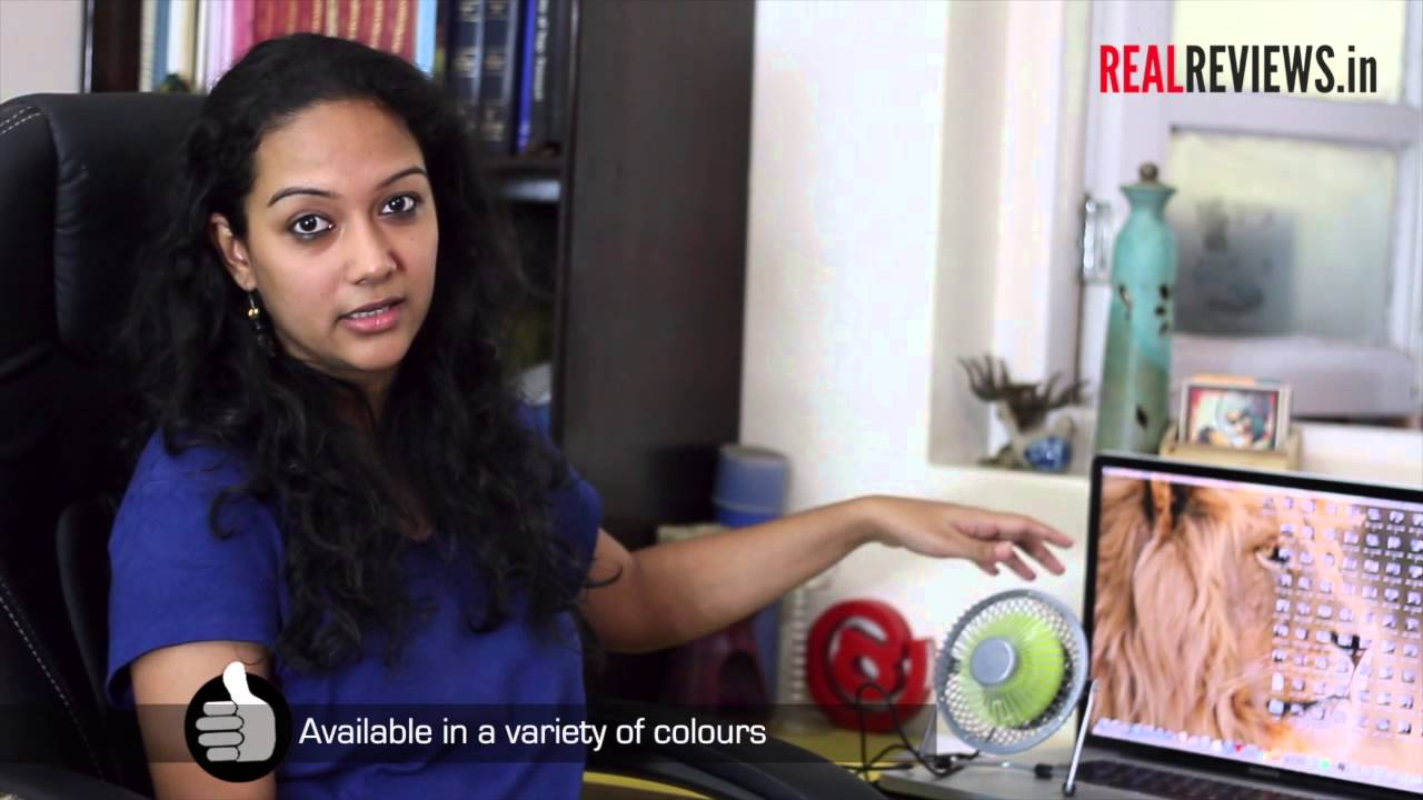 Review Elecom Usb Desk Fan From Daily Objects