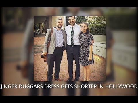 JINGER DUGGAR VUOLOs Dress Gets Shorter in Hollywood : Fans go crazy for her