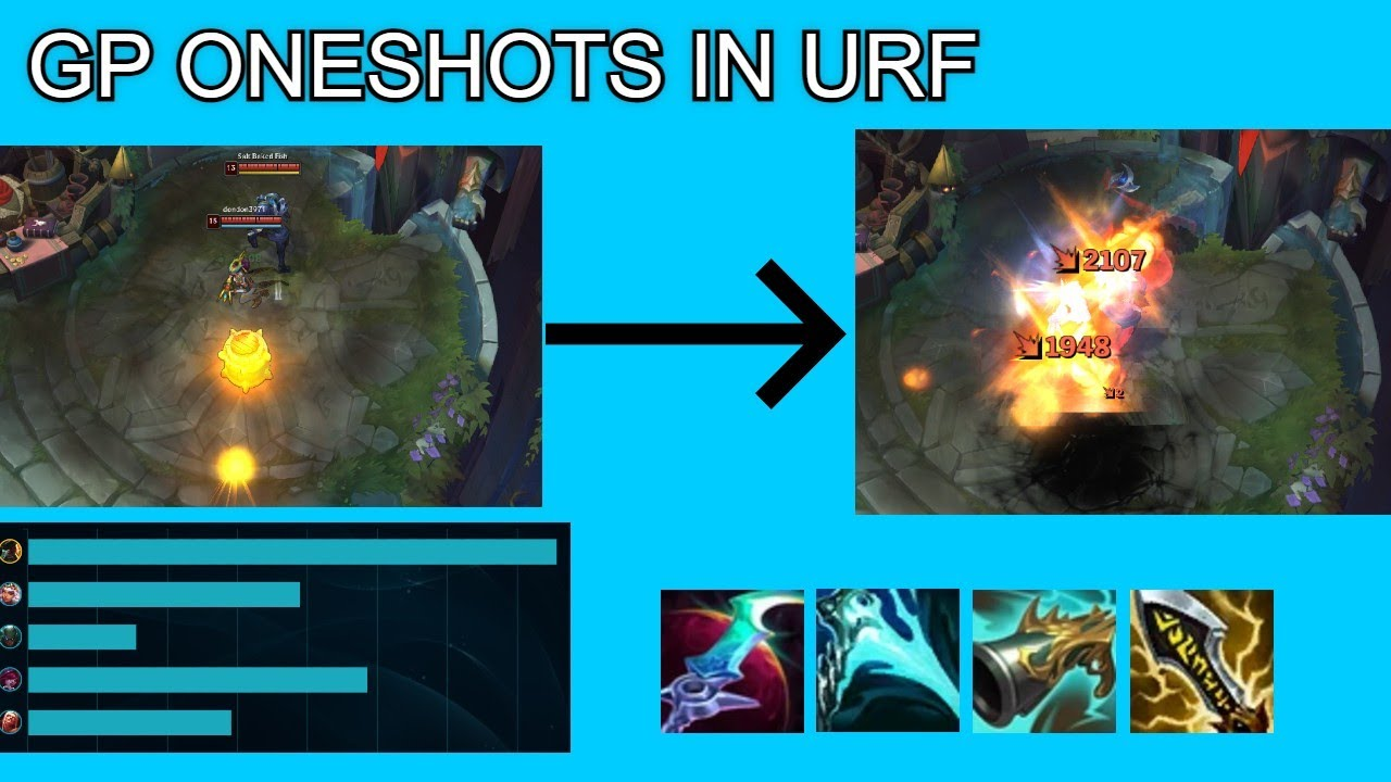 Download GP CAN ONESHOT PEOPLE IN FOUNTAIN! STRONGEST GP BUILD FOR URF 2021!