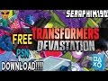 Free PSN Download ( TRANSFORMERS DEVASTATION ) PlayStation Network Live gameplay