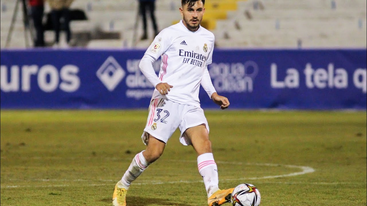 Victor Chust debut with Real Madrid vs Alcoyano (20/01/2021) HD