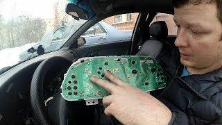 как разобрать приборную панель / заменить лампочки / улучшить подсветку стрелок ВАЗ 2113, 2114, 2115