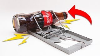 MOUSETRAP VS BOTTLE | POLINESIO  CHALLENGE | LOS POLINESIOS