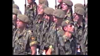 CARLOS MOYA JUGADOR TENIS JURANDO BANDERA 1997 MALLORCA