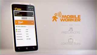 Mobile Worker | Time tracking and document management App Video