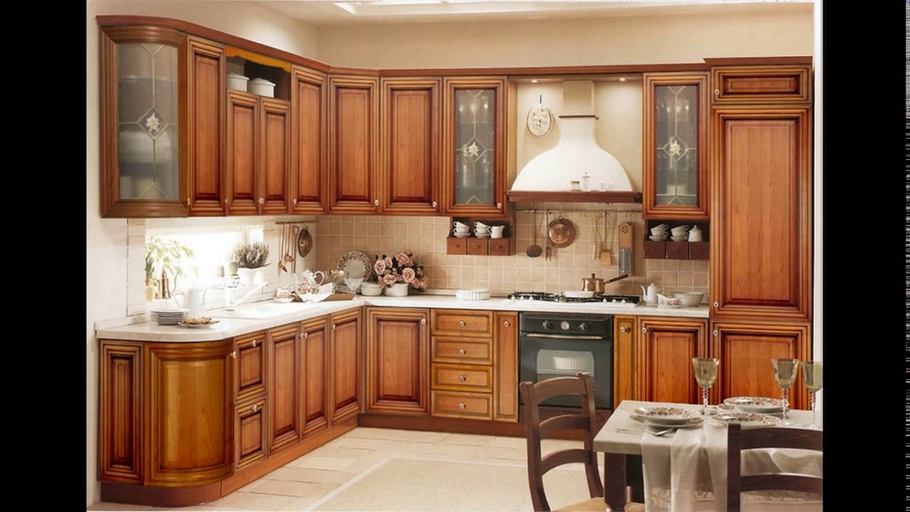 Wallpaper Designs For Kitchen Cabinets