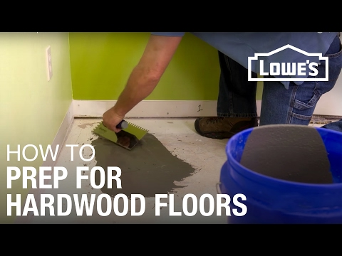 How to Prep Subfloor for Hardwood