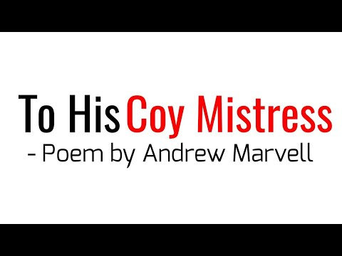 To His Coy Mistress Poem by Andrew Marvell in Hindi