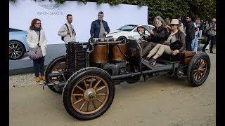 13L 4 cylinder!!! De Dietrich Bugatti Type 5 start up and drive