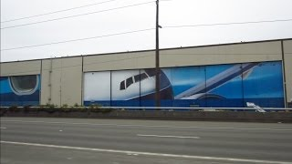 Boeing Everett factory tour | Dreamlifter | Dreamliner | Airplane Restoration Museum | First 727