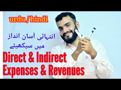 Direct and indirect expenses and revenues, Aftab Attari
