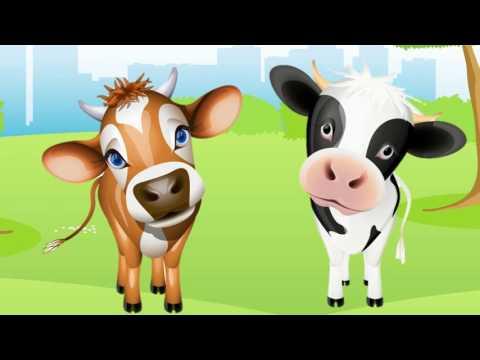 Bé học con vật | em tập nói tên các động vật nuôi con bò con thỏ con mèo| dạy trẻ thông minh sớm