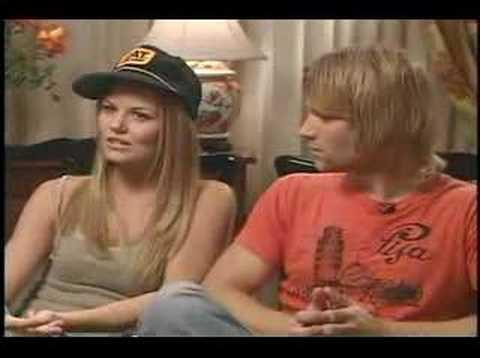 Classic Jennifer Morrison and Mike Vogel interview for Grind